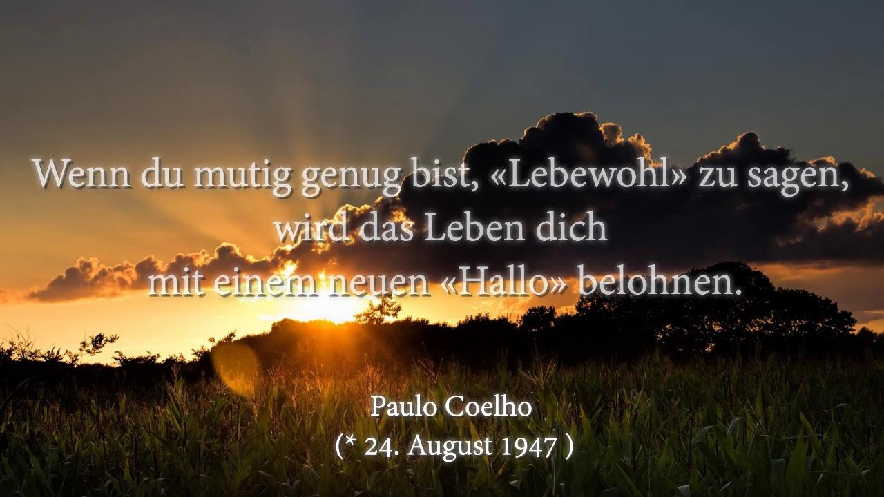paulo coelho sprüche Paulo Coelho Zitate   YouTube paulo coelho sprüche