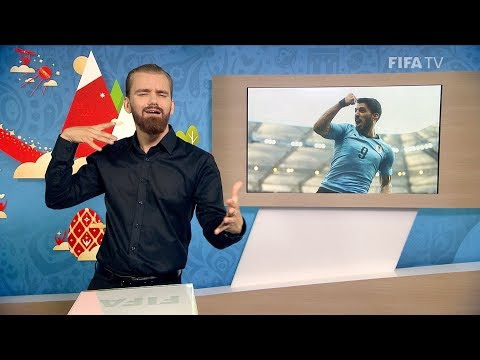 FIFA WC 2018 - URU vs. KSA – for Deaf and Hard of Hearing - International Sign