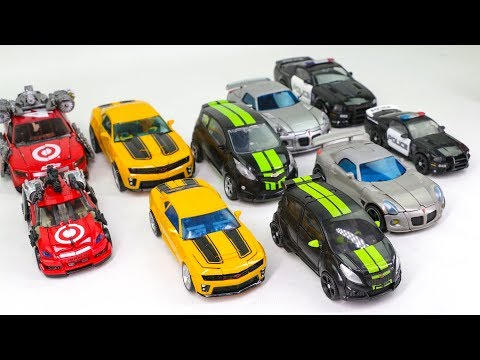 Transformers Movie Human Alliance & Deluxe Bumblebee Barricade Jazz Skids Leadfoot Car Robot Toys