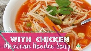 How to make Mexican Fideos Soup  | Mexican Food - Spicy Latina Mom
