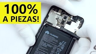 ¿Como es un Huawei MATE 10 por DENTRO? Desmontaje TOTAL!
