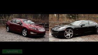 2013 Chevrolet Volt Vs. 2012 Fisker Karma