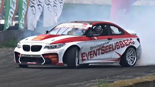 BMW HGK F22 Eurofighter - BMW M2 Feat. 850HP LS7 V8 Engine Swap! BRUTAL Sounds!