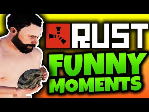 MAKING FRIENDS! - Rust Funny Moments