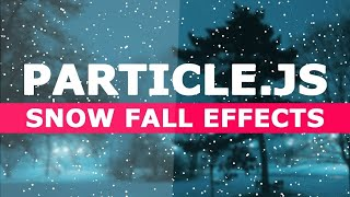 Add snow fall on web page using |html & CSS| Mp3