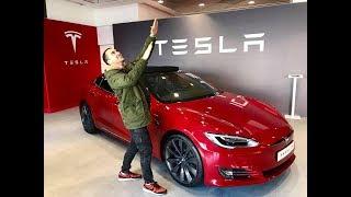 Обзор Tesla Model S 2018 за 88000€ в Лиссабоне | CarPoint