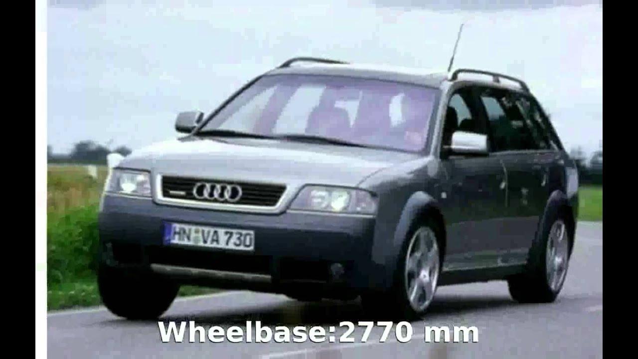 2001 Audi Allroad 2 5 Tdi Quattro Specs And Details