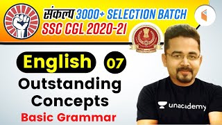 2:00 PM - SSC CGL 2020 -21   English by Sandeep Kesarwani   Outstanding Concepts