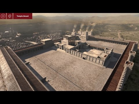 Virtual 3D Ancient Jerusalem App