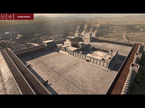 Virtual 3D Ancient Jerusalem App