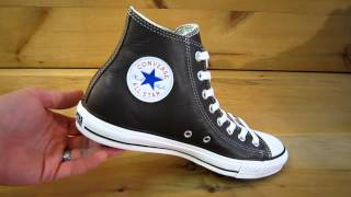 Converse All Stars Chuck Taylor High Leather Chocolate
