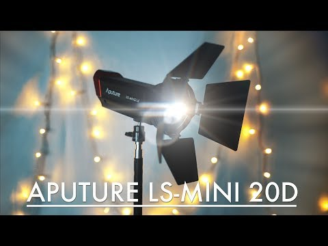 Aputure LS-Mini 20D Opinion - Small, Light, Powerful and Shapeable
