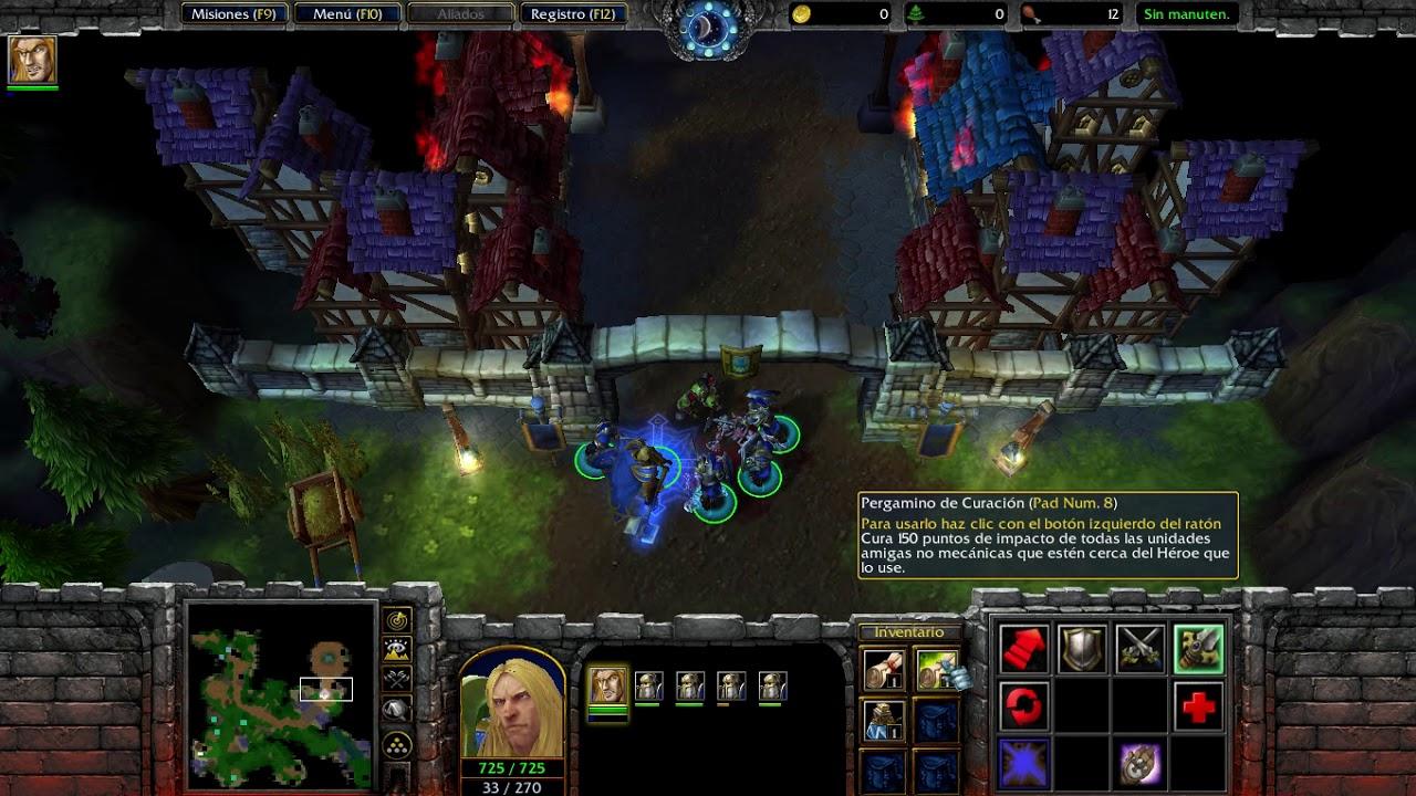 Warcraft III - Reign of Chaos (Reborn) Campaña de los humanos - Parte 1
