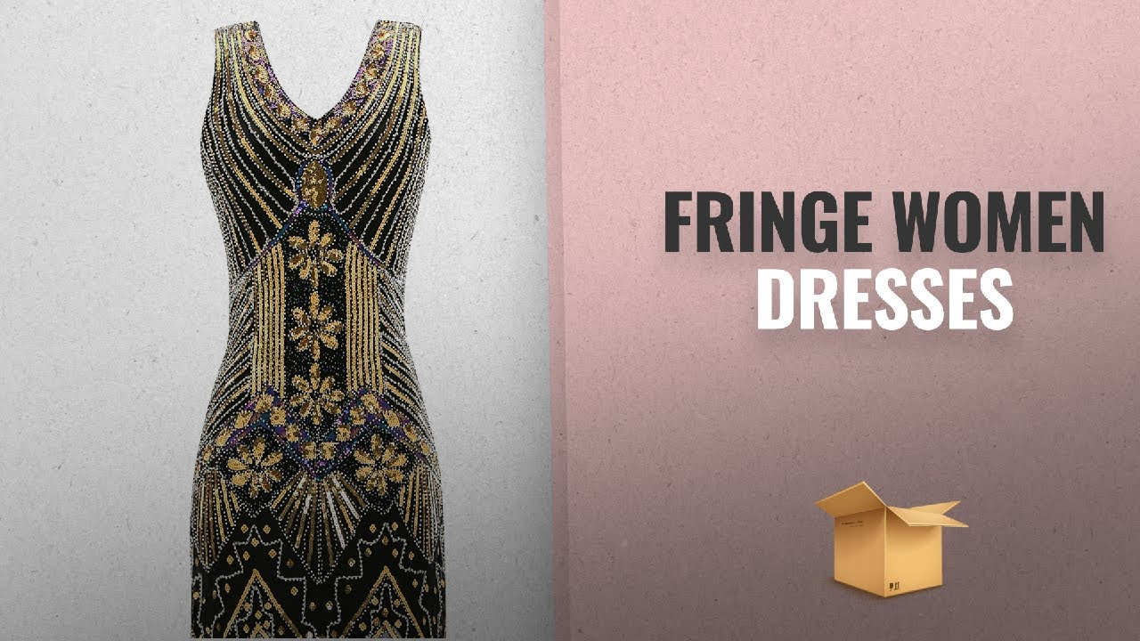 469955a8dfaf Fringe Style Women Dresses Collection  2018   Metme Women s 1920s V ...