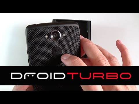Unboxing Motorola Droid Turbo en español
