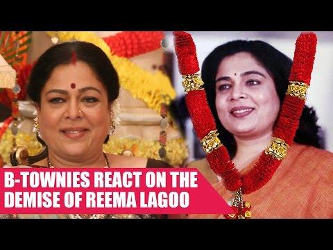 Celebs Emotional Tweets On Reema Lagoo Demise
