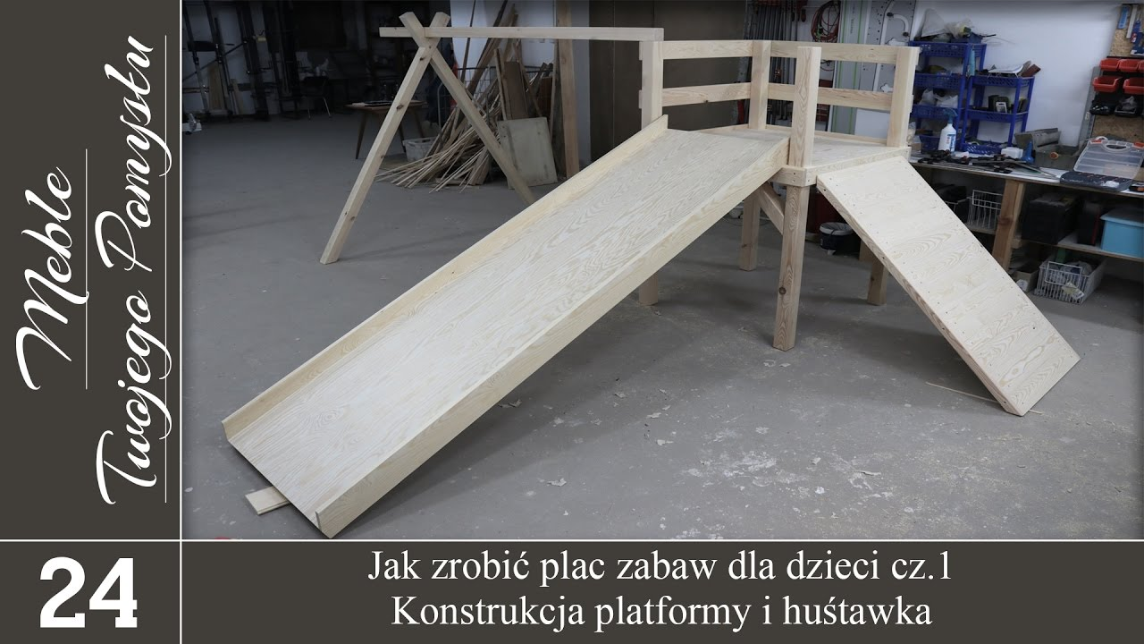 Wybitny Jak zrobić plac zabaw dla dzieci cz.1.- konstrukcja platformy i RJ51