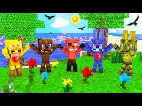 Minecraft - FNAF Island Resort - DAY 1!
