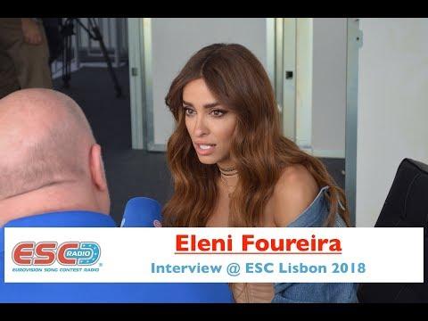 Eleni Foureira (Cyprus) interview @ Eurovision 2018 Lisbon | ESC Radio