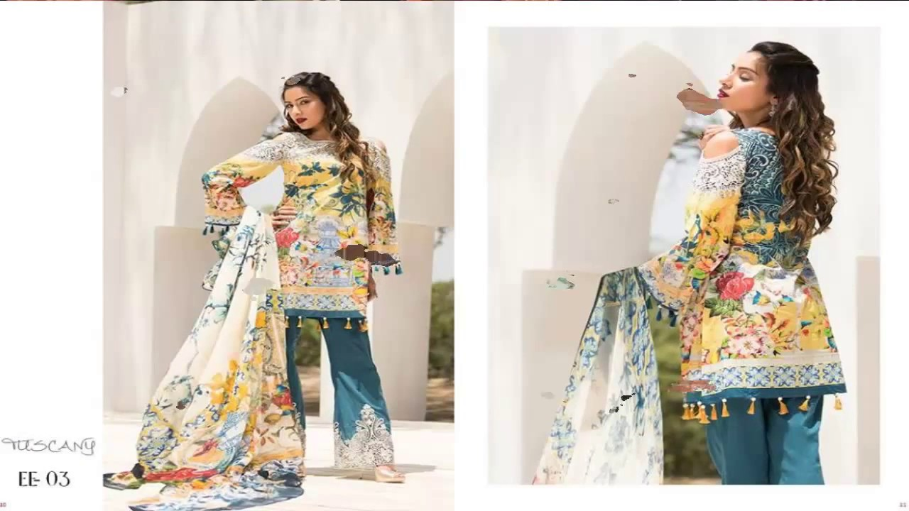 0715753993 Firdous Fashion Eid Exclusive Lawn Collection 2017 Full Catalog ...