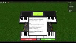Roblox Piano ||Hermann Necke - Csikos Post