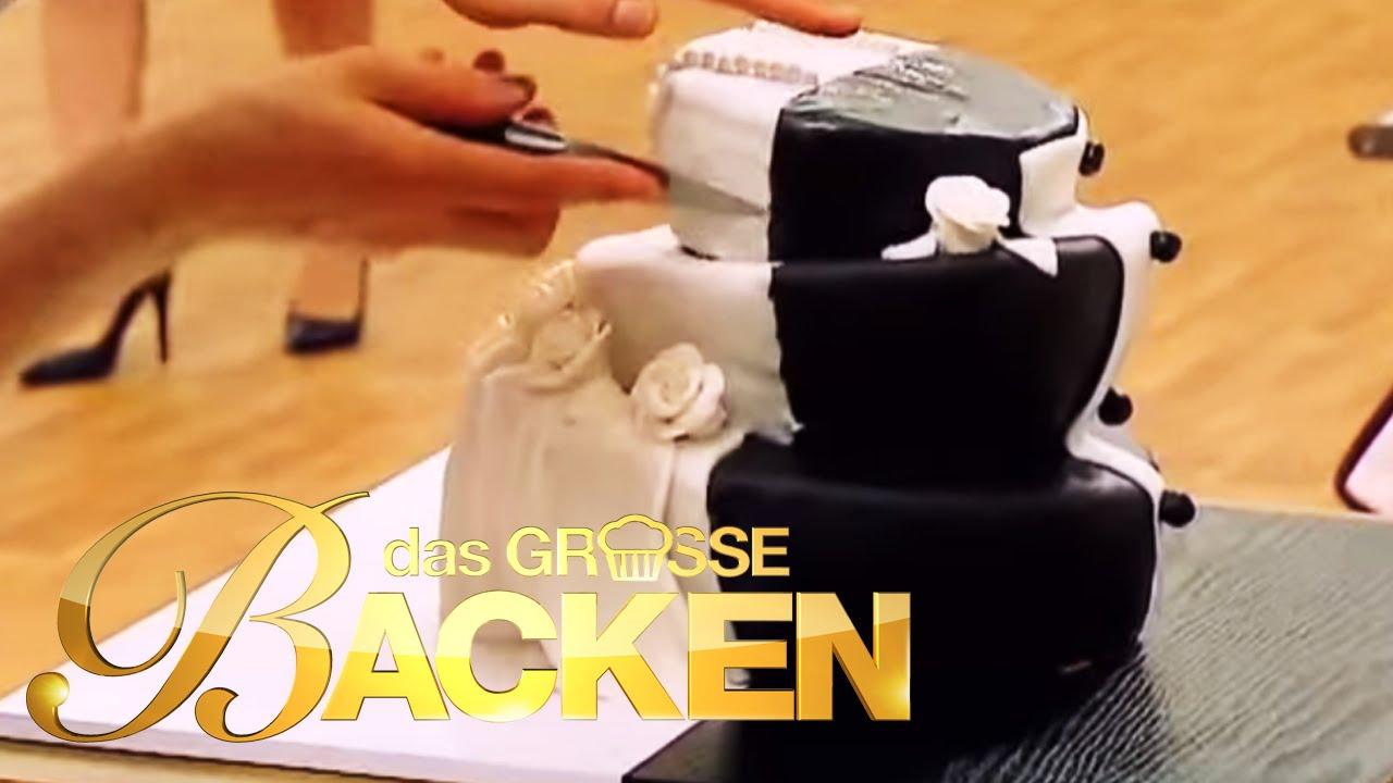 Hochzeitstorte mal anders - Teil 2 | Das große Backen Finale 2015 | SAT.1