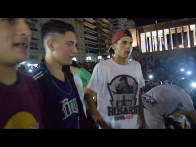 KLAN ECKO DAM - LIT KILLAH NARCISO LAZER - FINAL Fecha 9 - Rosario Underfree