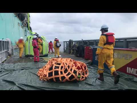 Offshore Personal Boat Transfer- frog Basket