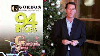 2014 FREE Bicycle Giveaway Baton Rouge, LA 225-888-8888 | Gordon McKernan Injury Attorneys