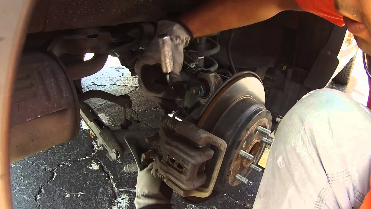 Honda Crv 2007 Wheel Bearing Hub Assembly Replacement Diy