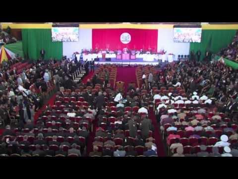 Inauguratie President en Vice-President van Suriname