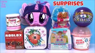 Num Noms Series 5 Surprise Toys Doc Mc Stuffins Animal Jam Surprizamals Roblox Hello Kitty