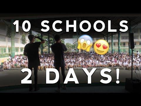 WE PERFORMED IN 10 SCHOOLS IN 2 DAYS!