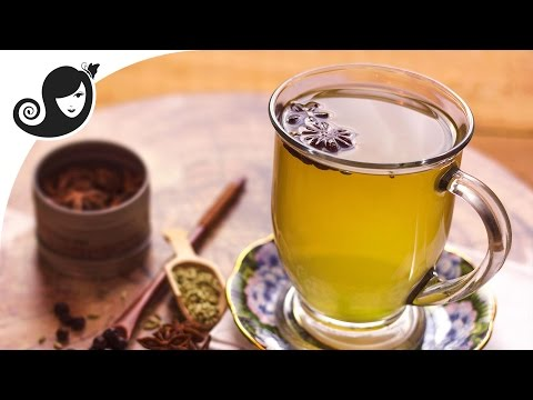 Home Remedy for Bloating, Gas, Menstrual Cramps Relief   Juniper Berry, Star Anise & Fennel Tea