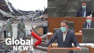 Powerful earthquake hits Croatia, rattles parliament in neighbouring Slovenia