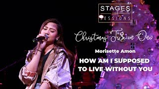 """Gambar cover Morissette Amon - """"How Am I Supposed To Live Without You"""" Live at Christmas Tr3e in One"""