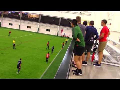 2018 14U US Soccer Semi finals Des Moines Menace Academy vs KC Sporting Academy