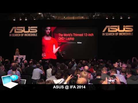 ASUS IFA 2014: Zenwatch, EeeBook X205, Zenfone 4G, Zenbook UX305 and MeMO Pad 7
