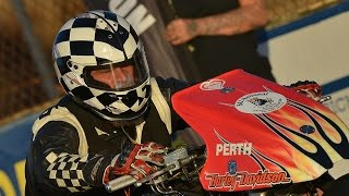 Top Fuel Motorcycle onboard with Mark Drew @ Grand Final 2016