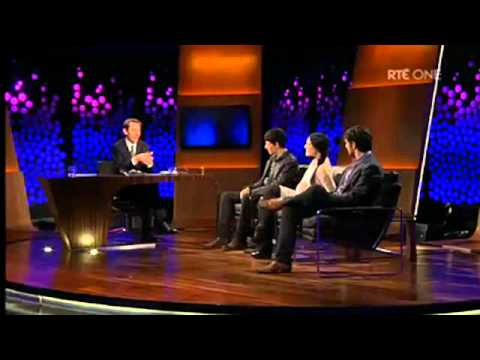 Colin Morgan, Katie McGrath and Eoin Macken on The Late Late