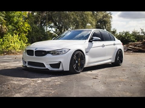 Mineral White Bmw M3 Sedan By Psi Youtube