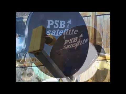 PSB LOGO Satellite Dish