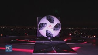 Russia World Cup soccer ball launched in Chile