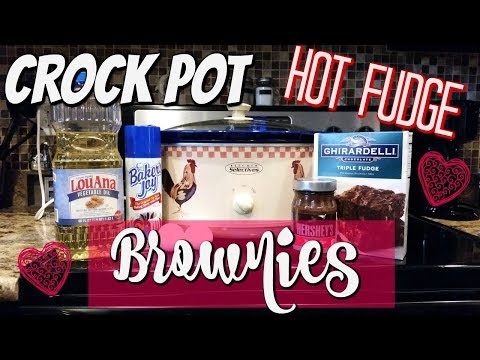 CROCKPOT HOT FUDGE BROWNIES~FOODIE FRIDAYS!~VIEWERS CHOICE!