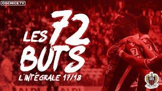 Saison 2017-18 : les 72 buts de l'OGC Nice