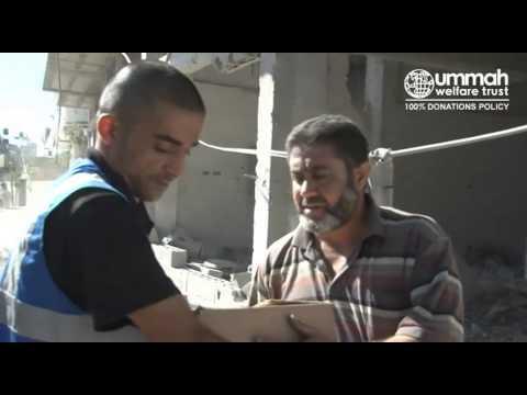 Delivering Emergency Food Aid in Gaza