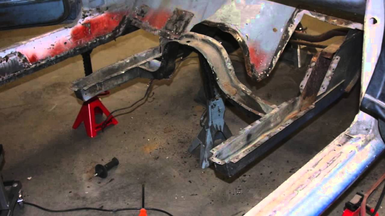 Rusted Out Floor Pan Replacement Tbt Youtube