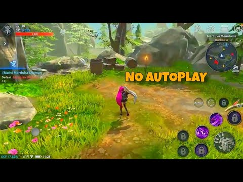 Top 10 MMORPG Without Autoplay For Android & IOS