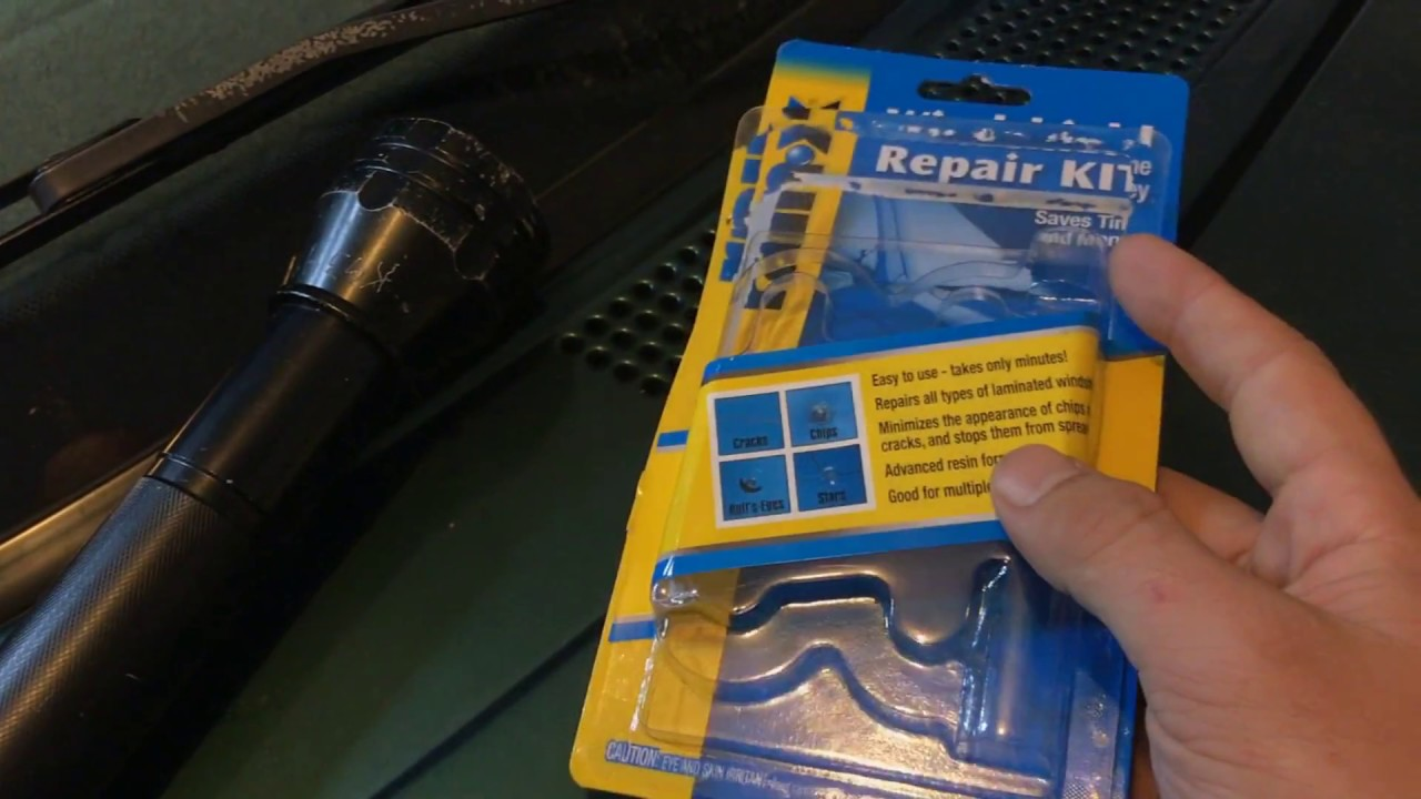 Rain X Chip Windshield Repair Does It Work Youtube