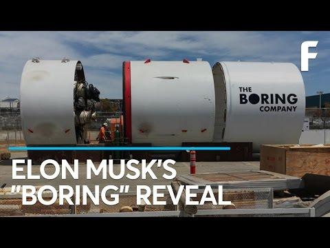 BREAKING: Elon Musk Has Revealed The Boring Machine